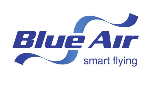 Blue Air Smart Flying Airlines Logo