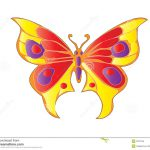 Butterfly Tribal Easy Resize Change Color