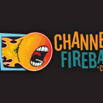 Channelfireball Playmat Tube Orange And Teal Small Logo
