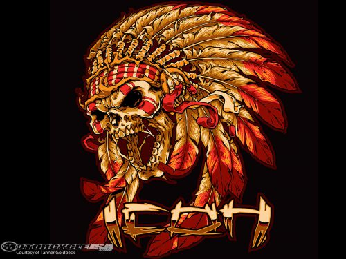 Indian Motorcycle Should Update Their Logo Goldbeck Rendition
