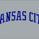 Kansas City Royals Jersey Logo Blue Grey