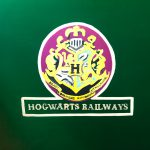 Quick Painting The Hogwarts Railway Logo