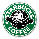 Starbucks Logo Felix The Cat