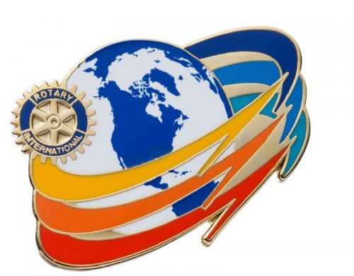 Theme Pin Rotary Merchandise Store Octon Inc Licensee