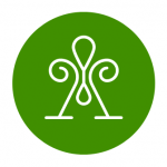 Image Green Circle Logo Lines Android Iphone And