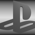 Playstation Logo Free Model Modeled High