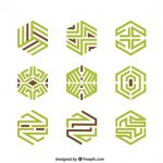 Abstract Geometric Logos