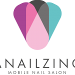 Anailzing Mobile Nail Salon Logo