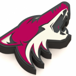 Arizona Coyotes Logo Model