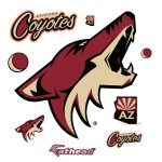 Arizona Coyotes Logo Wall Decal Shop Fathead
