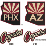 Arizona Coyotes Make New Name Official Today Chris Creamer Sportslogos News