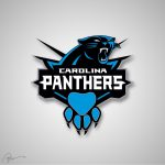 Artist Mixes Nba Nfl Logos Together Panthers Hornets Looks