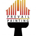 Artstation Prevail Painting Company Logo Fussiness Card Flyer Heli