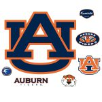 Auburn Tigers Logo Giant Officially Licensed Removable Wall Decal Shop