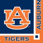 Auburn Tigers Party Supplies Paper