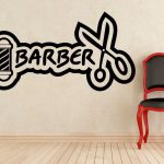 Barber Logo Scissors