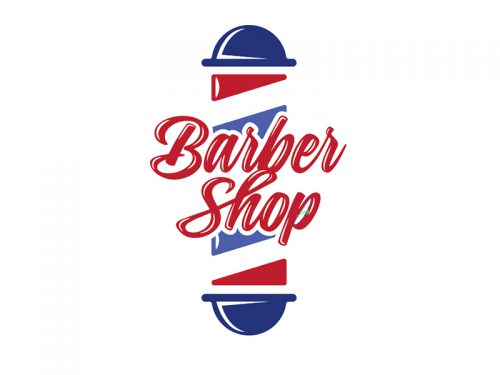 Barber Shop Logo Concept Drew Beamer