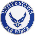 Buy United States Air Force Logo Pin Rush Industries