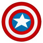 Captain America Logo Pin Pinterest