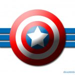 Captain America Shield Dice