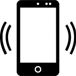 Cell Phone Signal Svg Icon