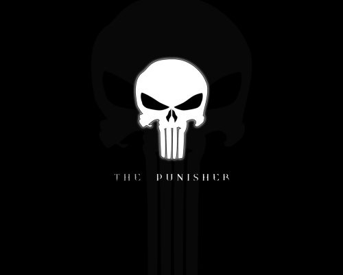 Central Punisher Skull