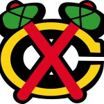 Chicago Blackhawks Logo Window Wall Decal Vinyl Car Sticker Any Colors
