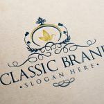 Classic Brand Logo Template Templates Creative