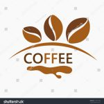 Coffee Beans Logo Design Vector Illustration