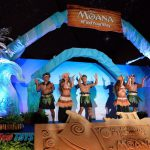 Come Toys Disney Moana Festive Light Event Art Science
