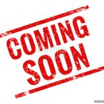 Coming Soon Stamp Red Grunge Vector Files Fotolia