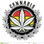 Cool Weed Symbol Clipart
