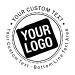 Custom Logo Round Address Stamp Trodat