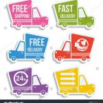 Delivery Fast Shipping Vector