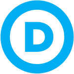 Democratic Party Logo Transparent Svg Wikimedia
