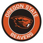 Fanmats Ncaa Oregon State University Orange Round Area Rug Home