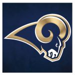 Fridge Magnet Locker Tool Box Nfl Los Angeles Rams Logo Blue