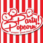 Fun Popcorn Logo Business Card
