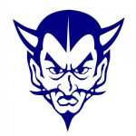 Gate City Blue Devil Svg