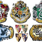 Harry Potter Iron Shirt Transfer House Crests Hogwarts Gryffindor Lot Hpc