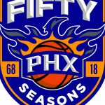 Here Look Phoenix Suns Anniversary Logo Business