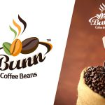 Logo Design Bunn Coffee Beans
