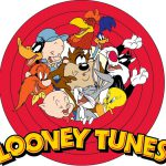 Looney Tunes Logo Characters Bugs Bunny Road Runner Giant Wall Print Poster