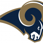 Los Angeles Rams Primary Logo National Football League Nfl Chris Creamer Sports
