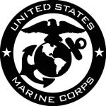 Marine Corps Usmc Abstract Metal Wall Cre Ivemetaldesigns Gifts Others