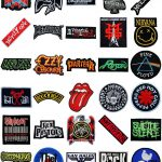 Music Songs Heavy Metal Punk Rock Band Logo Shirts Iron Patches Hot Deal
