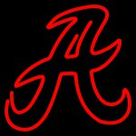 Ncaa Alabama Crimson Tide Logo Neon Sign Similar