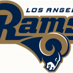 New Los Angeles Rams Logo Falls