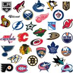 Nhl Logo Collection Large Officially Licensed Removable Wall