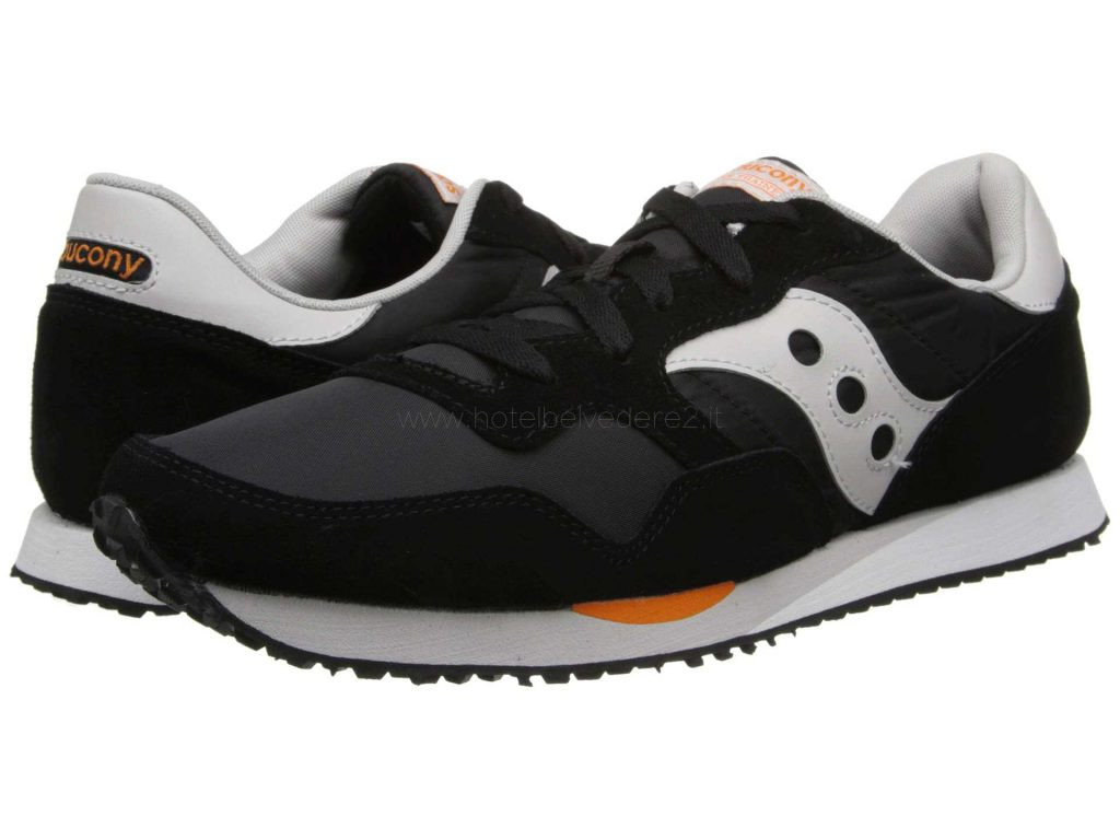 Ordine Miglior Logo Saucony Originals Dxn Trainer Nero Orange